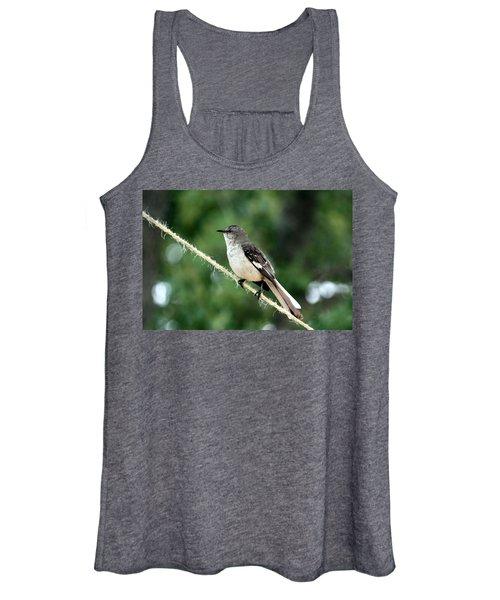 Mockingbird On Rope Women's Tank Top
