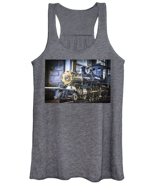 Model Train Women's Tank Top