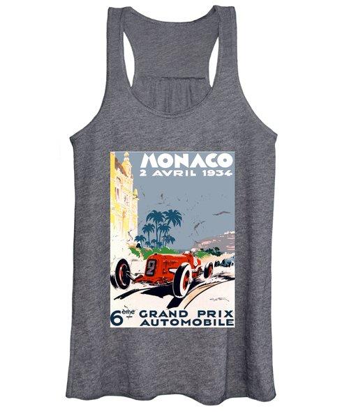 Monaco 1934 Women's Tank Top