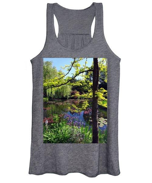 Monet's Pond Women's Tank Top