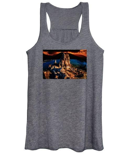 Mono Lake Sunset Women's Tank Top