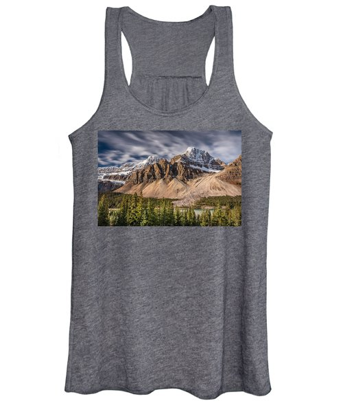 Mont Crowfoot On The Icefield Parkway Women's Tank Top