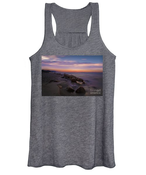 Montauk Sunset Boulders Women's Tank Top