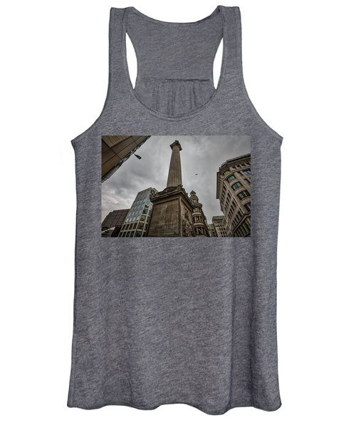 Monument To The Great Fire Of London Women's Tank Top
