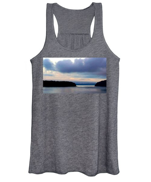 Moody Blue Women's Tank Top