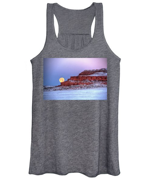 Moon Of The Popping Trees Women's Tank Top