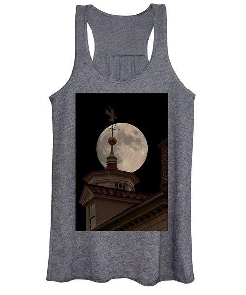Moon Over Mount Vernon Women's Tank Top