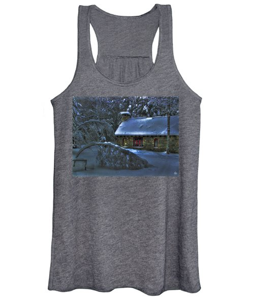 Moonlight On The Stonehouse Women's Tank Top