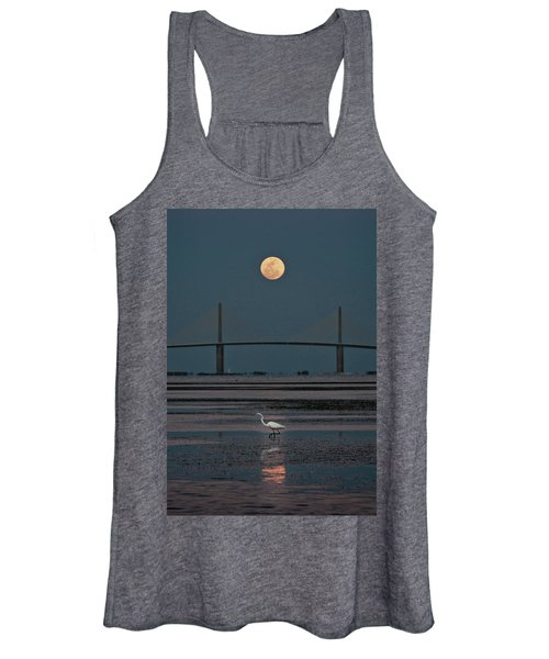 Moonlight Stroll Women's Tank Top
