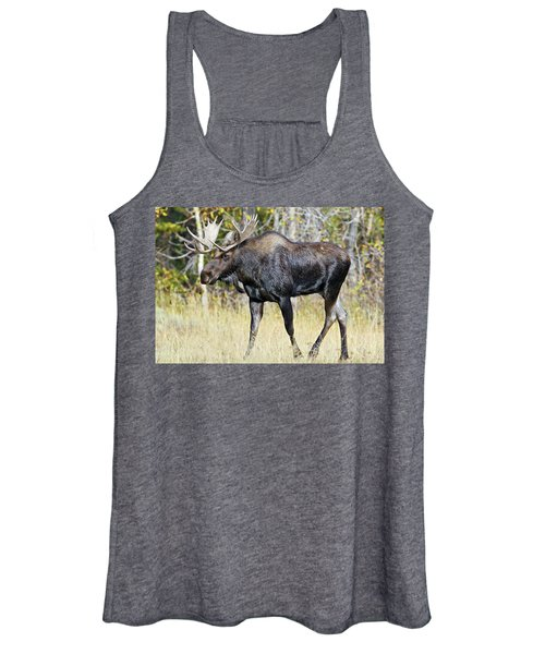 Moose On The Move Women's Tank Top