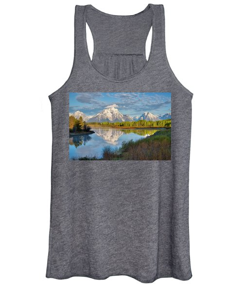 Morning At Oxbow Bend Women's Tank Top