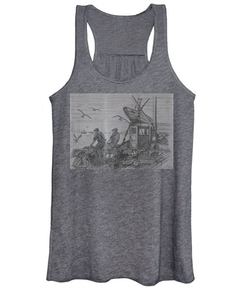 Morning Catch Women's Tank Top