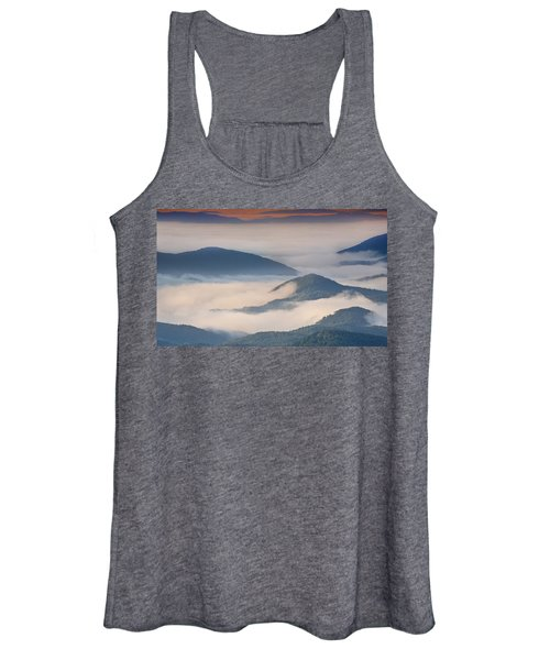 Morning Cloud Colors Women's Tank Top