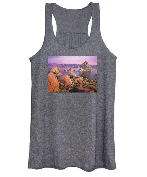 Morning Colors At Lake Pyramid Women's Tank Top