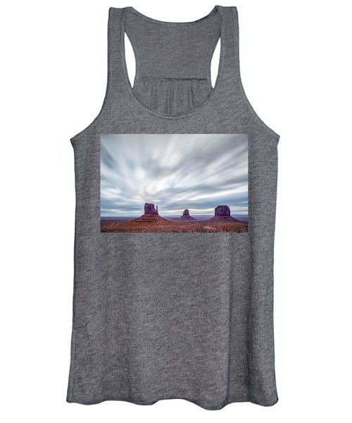Morning In Monument Valley Women's Tank Top