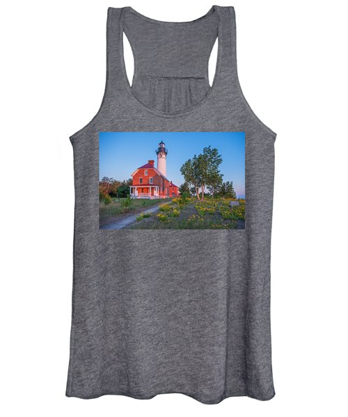 Morning Light At Au Sable Point Women's Tank Top