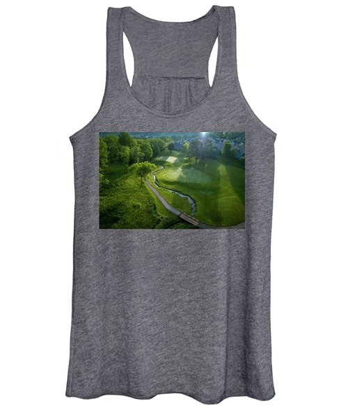Morning On The 9th Women's Tank Top