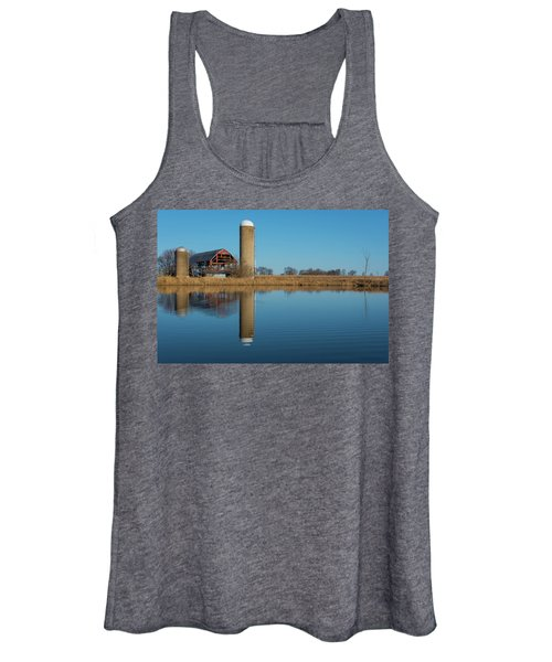 Morning On The Farm Women's Tank Top