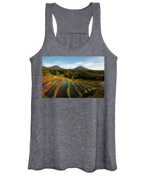 Morning On The Terrace Women's Tank Top