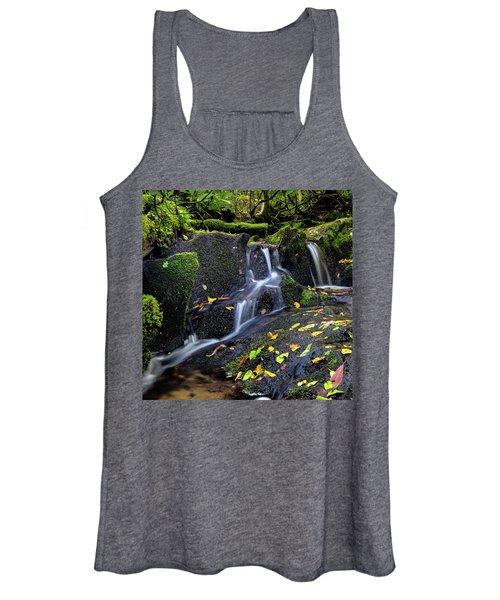Emerald Cascades Women's Tank Top