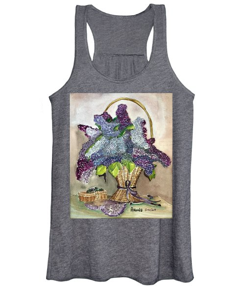 Mothers Day Lilacs Women's Tank Top