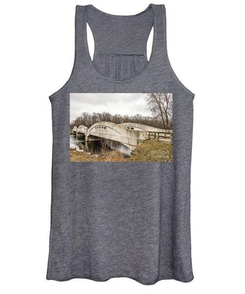 Mottville Bridge On Us 12 In Michigan Women's Tank Top