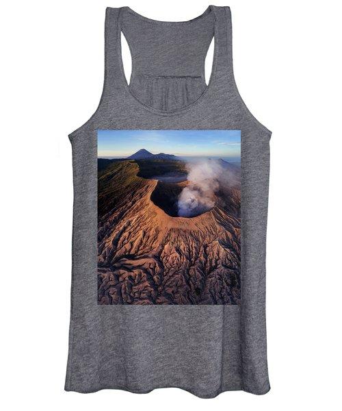 Mount Bromo At Sunrise Women's Tank Top