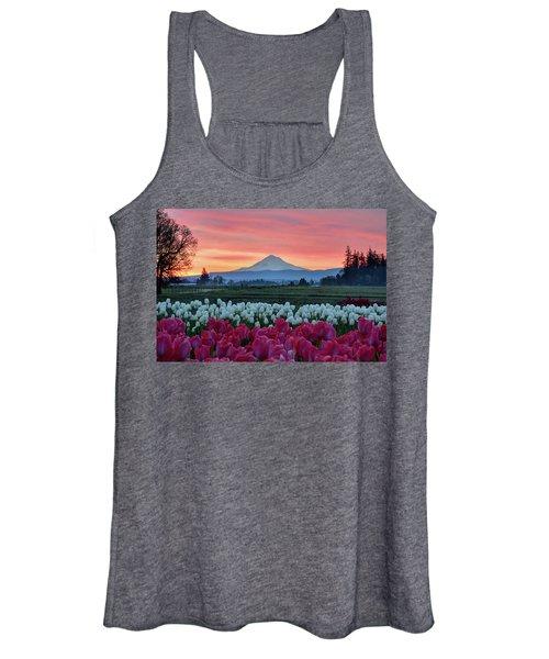 Mount Hood Sunrise Women's Tank Top