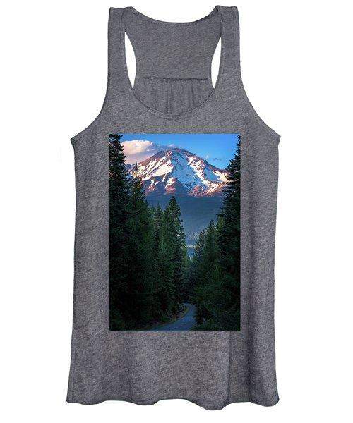 Mount Shasta - A Roadside View Women's Tank Top