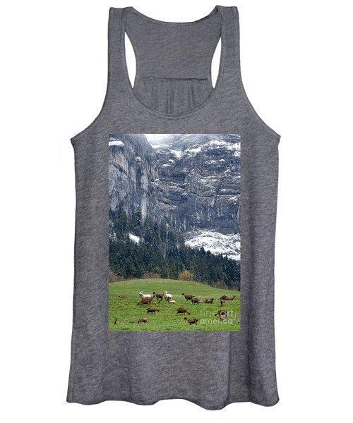 Mountain Goats Mountain Women's Tank Top