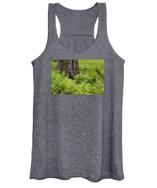 Mountain Green Ferns Women's Tank Top