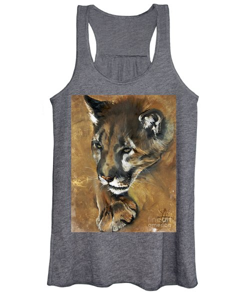 Mountain Lion - Guardian Of The North Women's Tank Top
