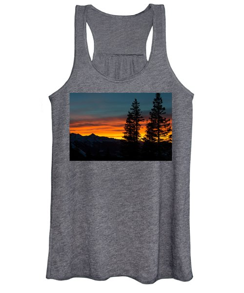 Mountain Sunset Women's Tank Top