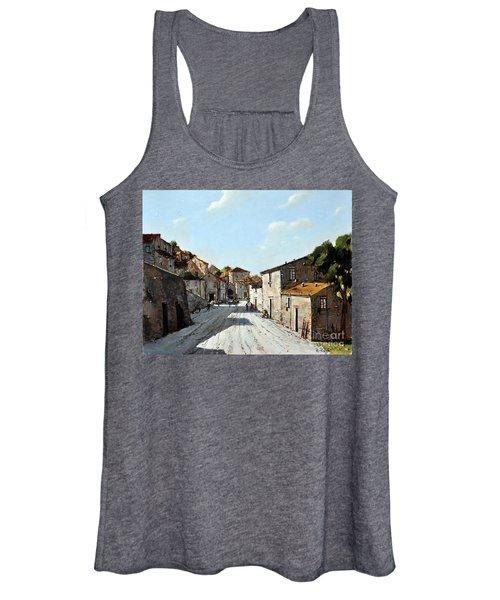 Mountain Village Main Street Women's Tank Top