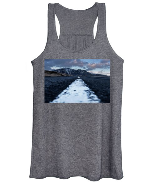 Mountains In Iceland Women's Tank Top