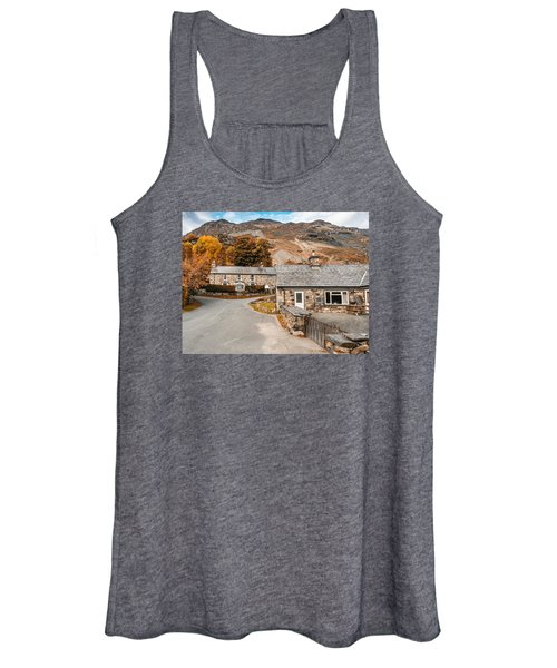 Mountains In The Back Yard Women's Tank Top