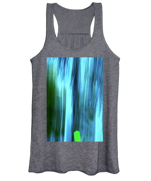 Moving Trees 37-15portrait Format Women's Tank Top
