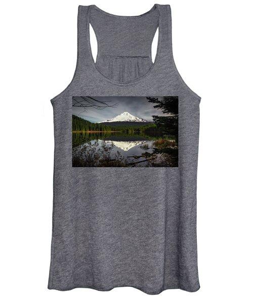 Mt Hood Reflection Women's Tank Top