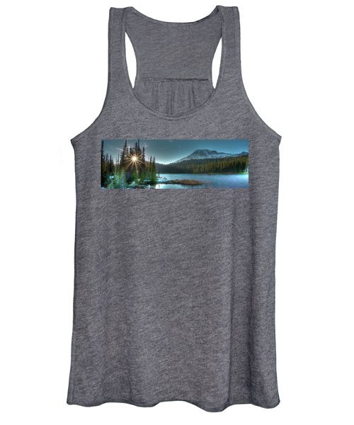 Mt. Rainier Sunrise Women's Tank Top