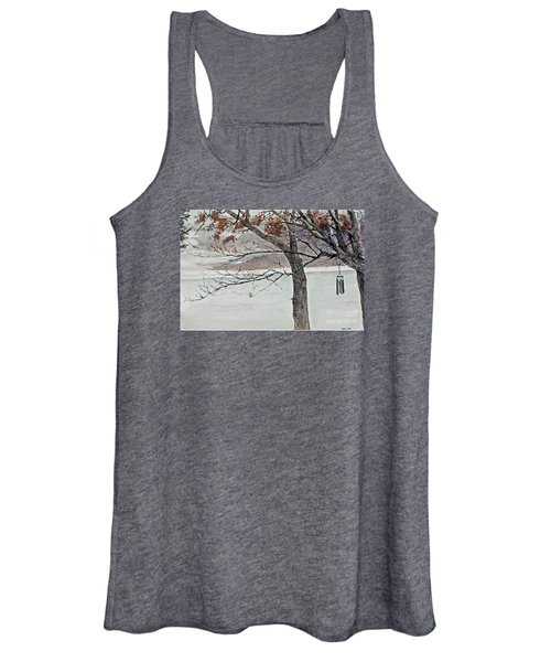 Music Of The North Wind Women's Tank Top