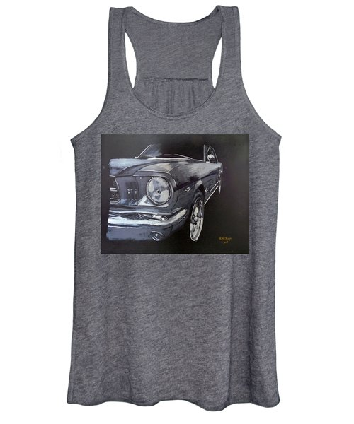Mustang Front Women's Tank Top