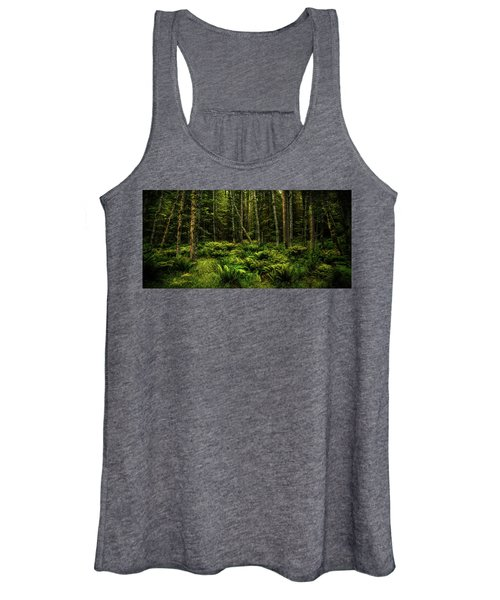 Mysterious Forest Women's Tank Top