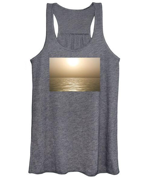 Mystery Sandstorm Sunset- The Red Sea Women's Tank Top