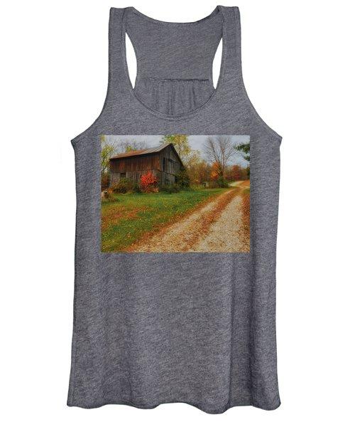 Mystical Country Lane  Women's Tank Top