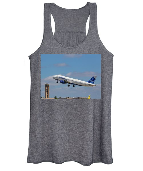 N625jb Jetblue At Fll Women's Tank Top