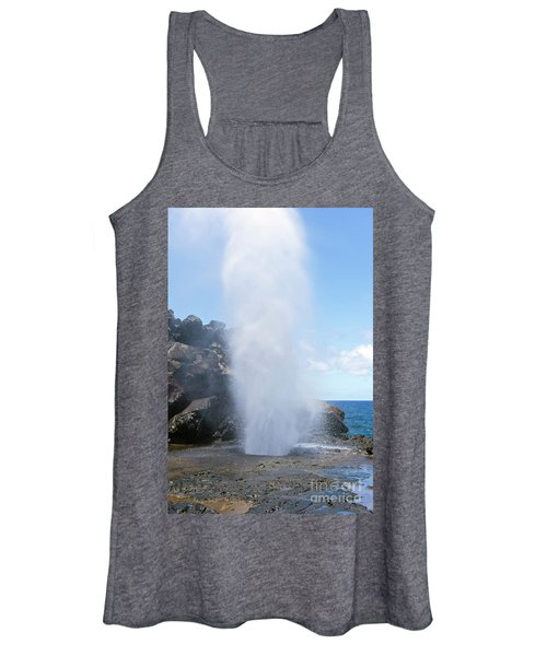 Nakalele Blowhole Women's Tank Top