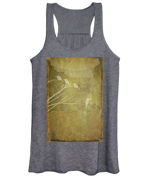 Nature Study In Gold  Women's Tank Top