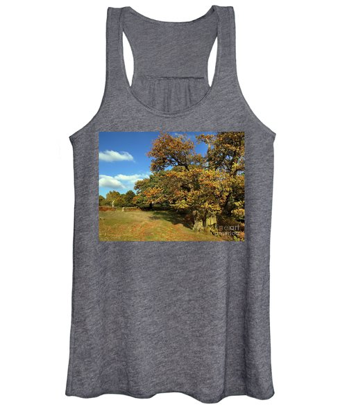 Nature The Golden Oak Women's Tank Top