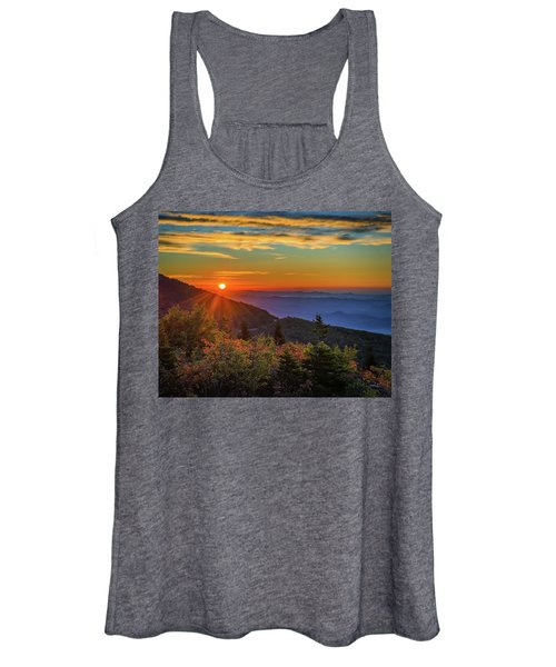 Nc Mountain Sunrise Blue Ridge Mountains Women's Tank Top