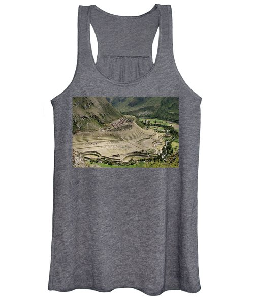 Nestled At The Foot Of A Mountain Women's Tank Top